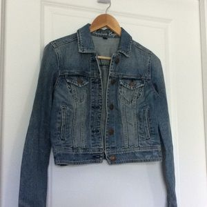 GUC American Eagle distressed denim jacket